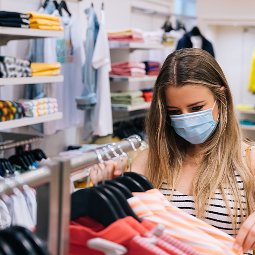 Retail Industry: Clarifying Face Mask Policies