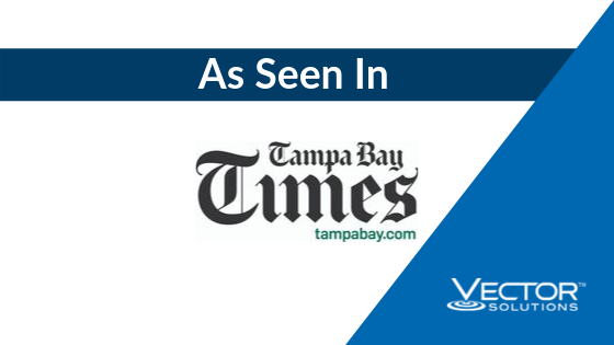As Seen In Tampa Bay Times: Vector Solutions Acquires CrewSense