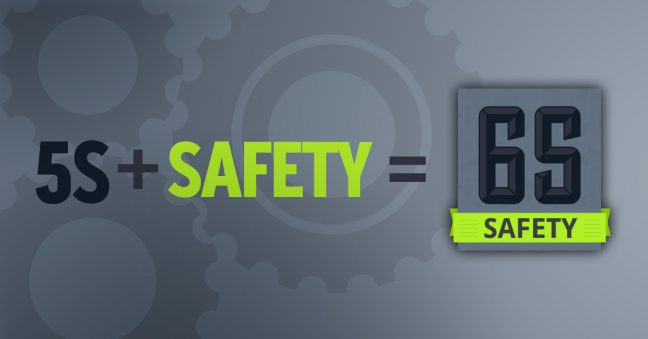 5S Safety 6S Lean Image