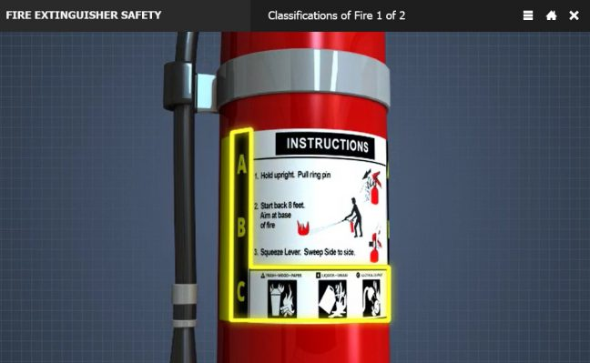 Fire Extinguisher Label Image