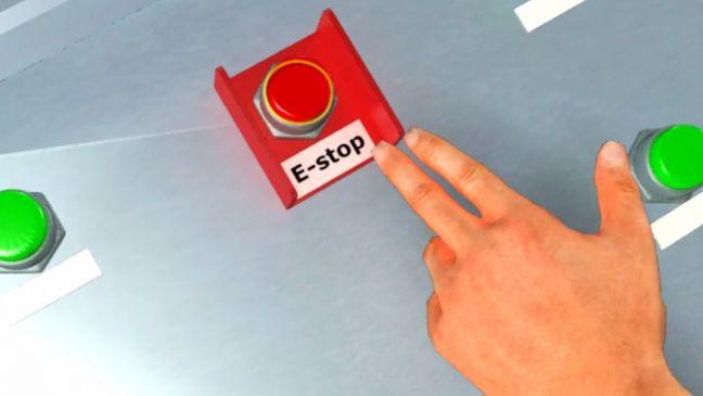 Paper Machine ESTOP Image