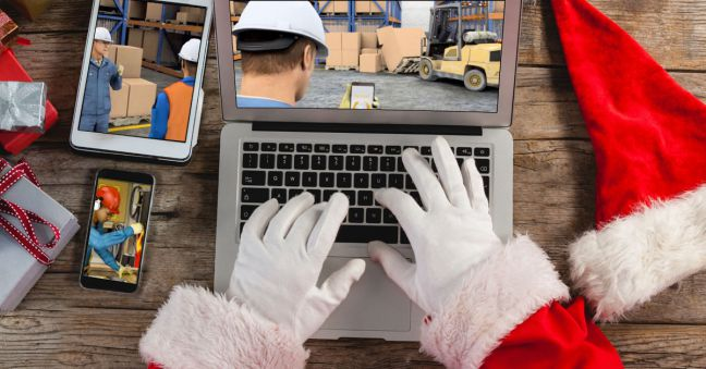 Safety Training for Santa & Rudolph Image