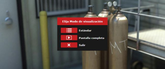 Online Safety Training Spanish Language Opening Screen Image