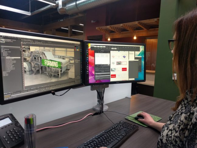 Compositing for 3D Manufacturing Training Image
