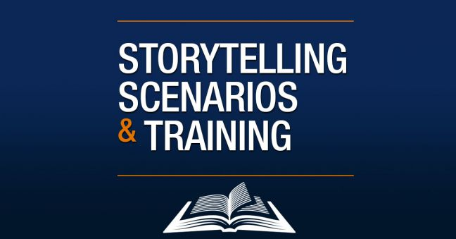 Storytelling, Scenarios, and Training Image