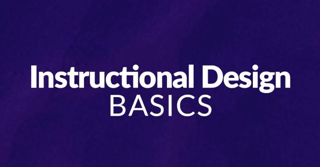 Instructional Design Basics Image